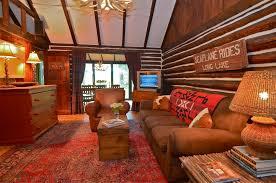 Log Cabin Living Room Designs Beautiful Crane Log Cabin In Lake Mohawk Tapinto Living Room