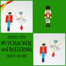 nutcracker and ballerina ornament crafts for kids wikki stix