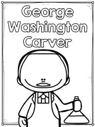 washington carver flip book plus colored poster u0026 student coloring