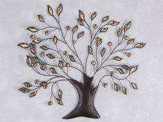 deko baum wand wand deko blumenzweig pusteblume aus metall höhe 71cm silber