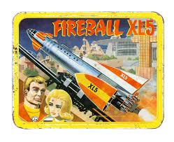 fireball xl 5 1964 metal lunch box saturday morning cartoon tv