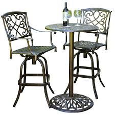 deck table and chairs bar height patio table and chairs modern best outside stools set at