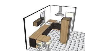 plan implantation cuisine plan cuisine en longueur 9 avis implantation cuisine 233troite 64