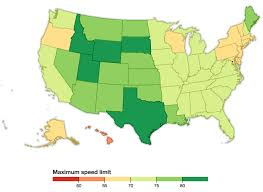South Dakota In Usa Map by South Dakota Sends Speed Limits Shooting Up To 80 Mph