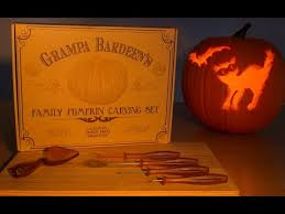 pumpkin carving kits gra bardeen s pumpkin carving kit