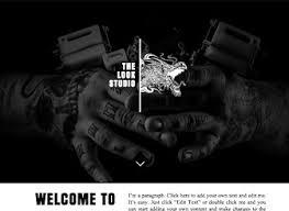 tattoo designs website template wix