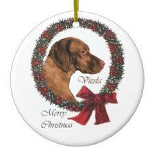 vizsla ornaments u0026 keepsake ornaments zazzle
