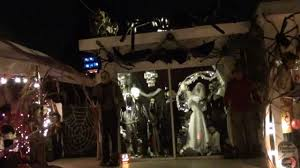 it s written on the wall halloween sign the haunted mansion enter