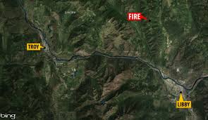 Wildfire Today Montana by Wildfire Burning Near Libby Triggers Evacuations Kpax Com