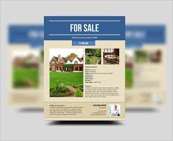 house for sale flyer template 20 free download real estate flyer