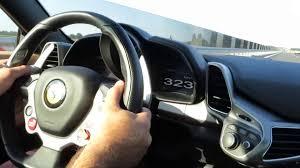 Ferrari 458 Top Speed - ferrari 458 italia top speed 336 kmh german autobahn youtube