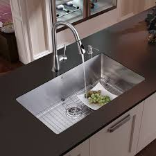 kitchen sink and faucet sets vigo undermount stainless steel kitchen sink faucet grid