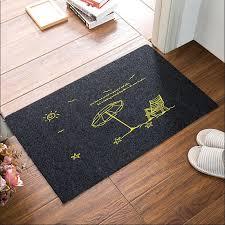 Ultra Thin Bath Mat Promotion 50x80cm Cartoon Entrance Hall Door Anti Skid Carpet
