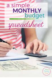 Track My Spending Spreadsheet Best 25 Home Budget Spreadsheet Ideas On Pinterest Home Budget