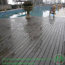 artificial timber swimming pool composite decking wood plastic wpc