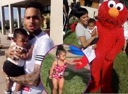 brown s day it s baby royalty s birthday chris brown throws an