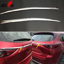 mazda cx 5 logo aliexpress com buy car rear trunk logo side trim abs chrome 2pcs