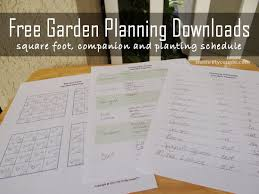 printable vegetable planner garden planner printables