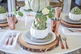simple neutral thanksgiving entertaining zdesign at home