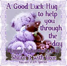 Valentines Day Love Quotes by A Good Luck Hug Happy Valentines Day Pictures Photos And Images