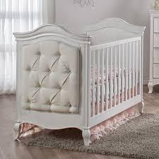 Pali Drop Side Crib Pali Diamante Classic White Baby Crib Upholstered Crib