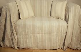 Sofa Blankets Throws 100 Cotton Cream Oatmeal Stripe Giant Sofa Throw 230x365 Cms For