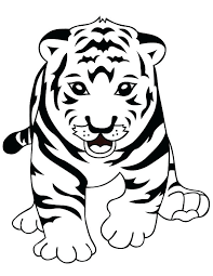 snow tiger coloring page tigers coloring pages coloring pages of tigers tigers tigers