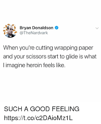 meme wrapping paper bryan donaldson when you re cutting wrapping paper and your