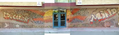 mural portfolio 8 235 artist rahmaan statik and azteka 5000 title education is liberation of the mind size 8x42ft medium mosaic tile location sinclair campus 4946