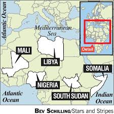 Horn Of Africa Map by Africom Must Adapt To New Challenges Outgoing Commander Says