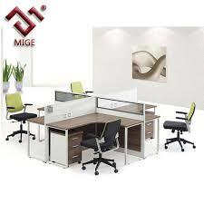 T Shape Desk T Shaped Steel Legs Wooden Workstation In Office Desk View