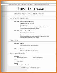 download best resume format best resume format for electrical
