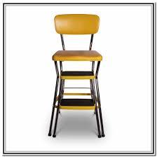 Cosco Bar Stool Cosco Retro Chair With Step Stool Black Home Design Ideas