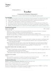 teachers resume exles master resume master resume sle resume exles
