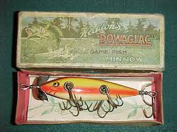 heddon antique fishing lures