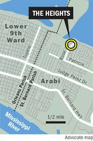 9th Ward New Orleans Map by Chic Of Arabi Modern Design Vintage Wood And A New Start In St