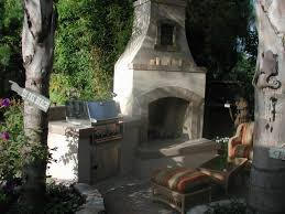 interesting decoration outdoor fireplace and grill endearing