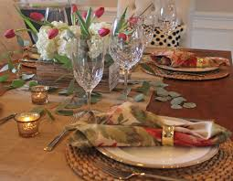 a late summer tablescape two ways