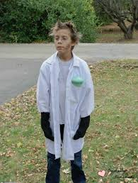 Halloween Mad Scientist Costume Cheap Homemade Halloween Costumes Kids Creatively Homemade