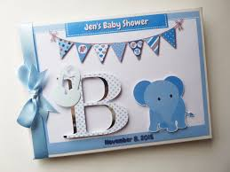 personalised baby shower guest book boys girls memory album