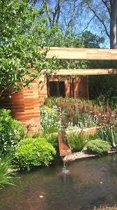 corten steel garden design eye