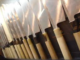 types of kitchen knives and their uses file japanese kitchen knives by everjean in kyoto jpg wikimedia