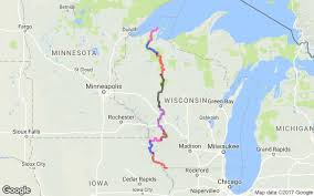 Namekagon River Map Advtracks Trans Wisconsin Adventure Trail 2015