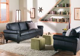 Palliser Theater Seating Palliser Meadowridge Transitional Sofa With Rolled Panel Arms