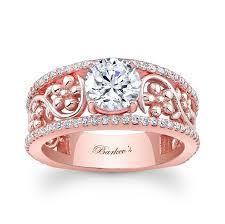 beautiful golden rings images Stylish modern rose gold rings 2014 for women jpg