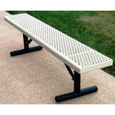 White Metal Outdoor Bench Bench Amazing Metal Outdoor Hom Decor With Regard To Benches