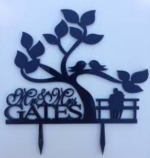 personalized custom wedding cake topper wedding silhouette cake