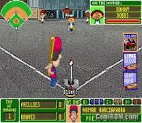 Play Backyard Baseball 2003 Backyard Baseball Gbafun Is A Website Let You Play Retro Gameboy