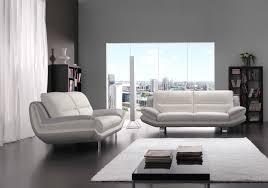 canap gris design canapé cuir design blanc gris bea salon cuir italy pas cher