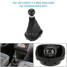 5 speed gear shift knob gearstick boot kit for vw caddy ii 2 mk2